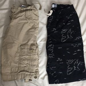 Pair of boy shorts